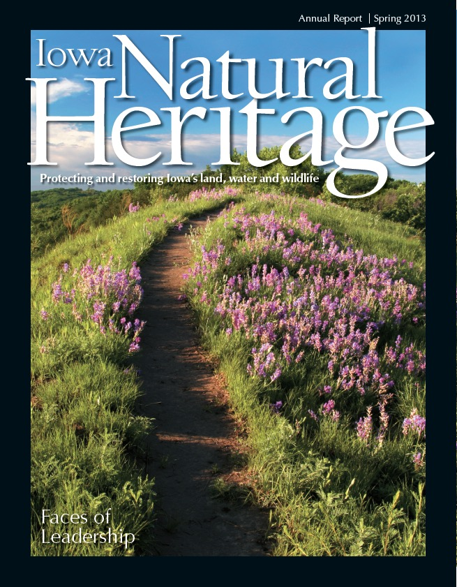 Iowa Natural Heritage, INHF's magazine