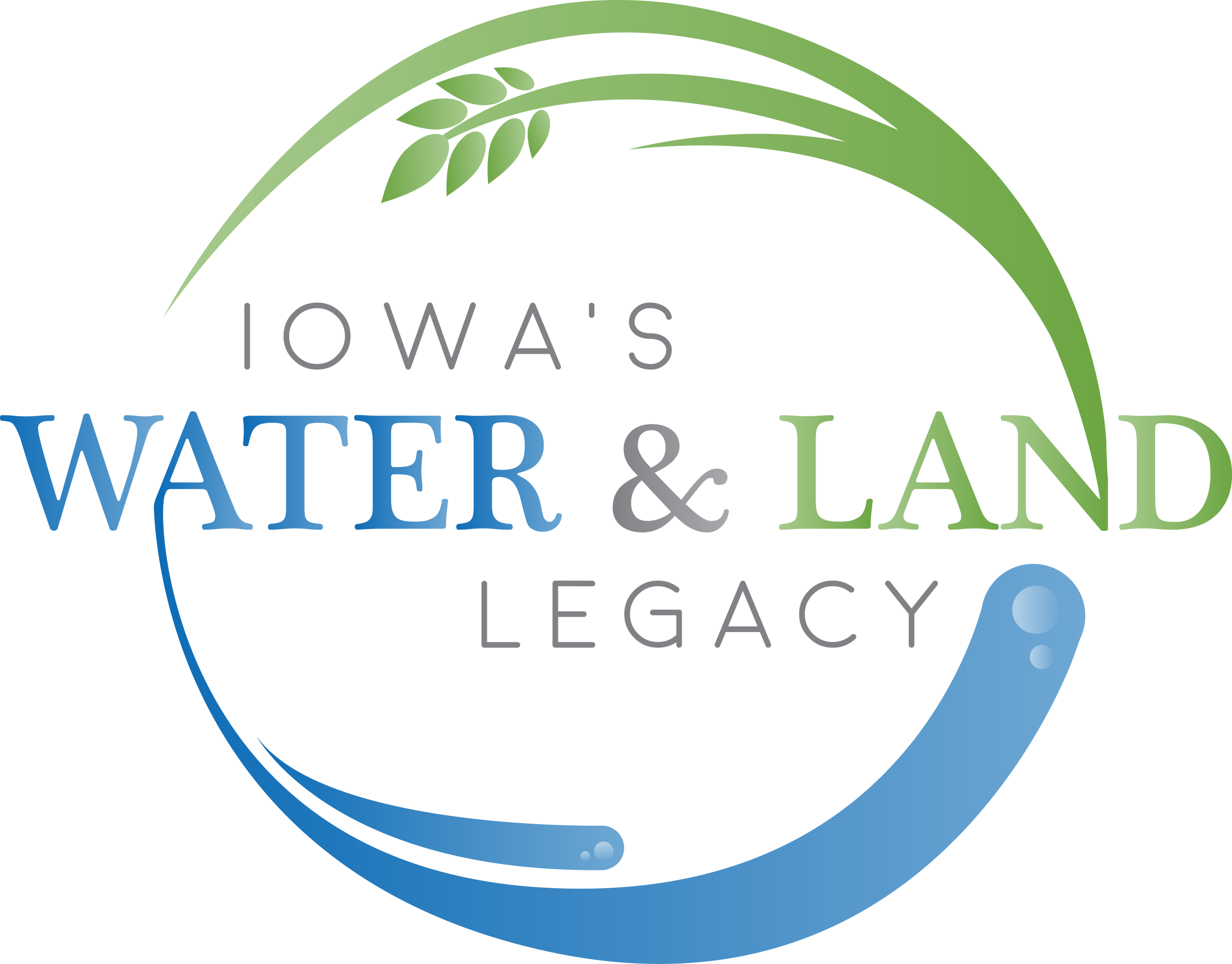 Iowa's Water and Land Legacy logo