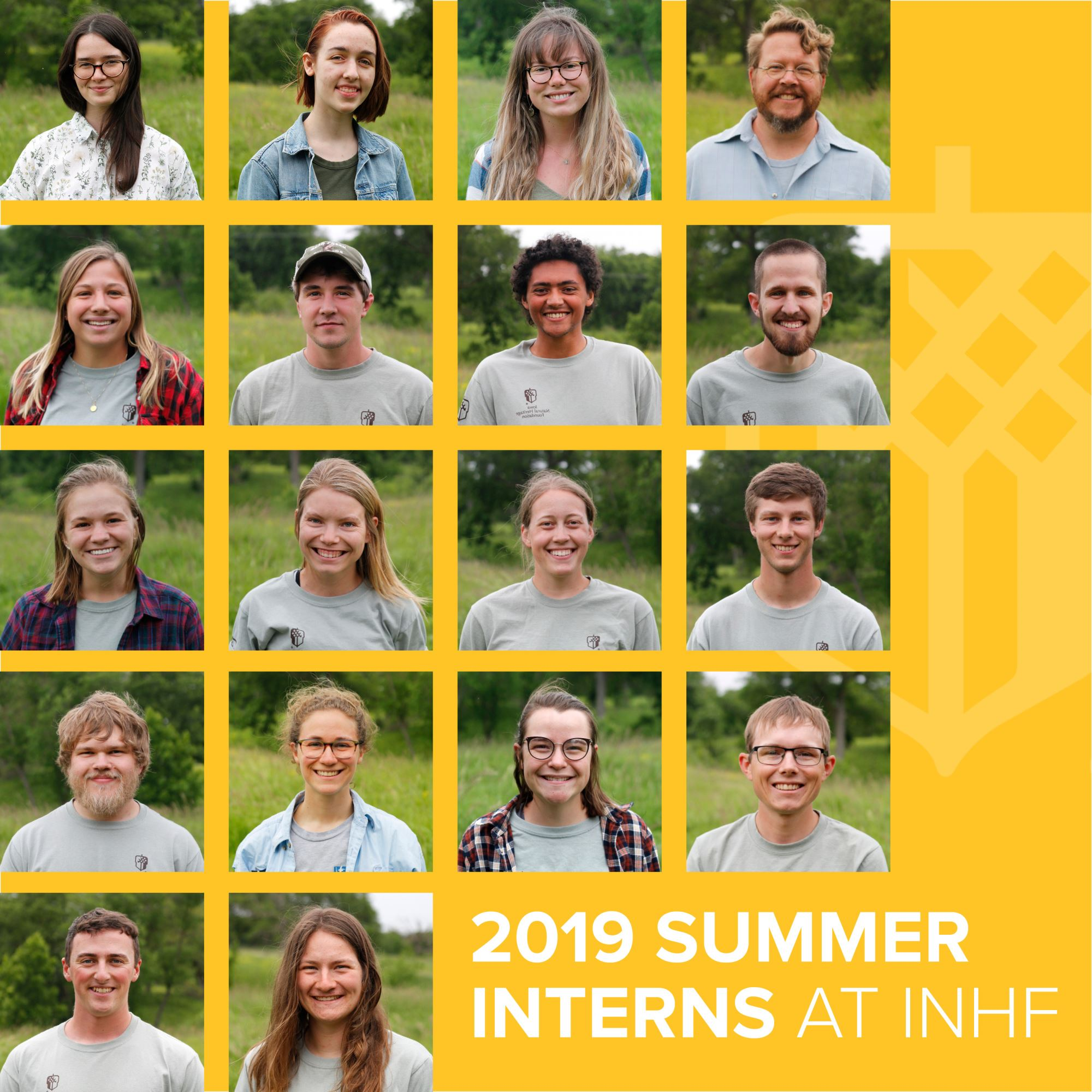 Meet INHF's 2019 Summer Interns