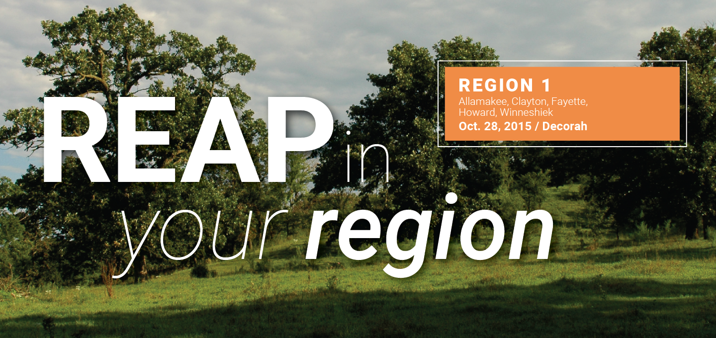 REAP in your region
