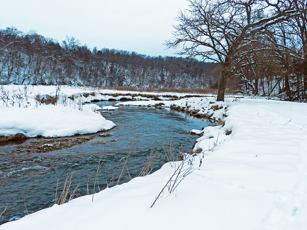 Two popular trout streams protected in northeast Iowa