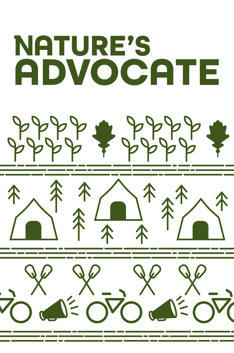 Nature's Advocate booklet cover