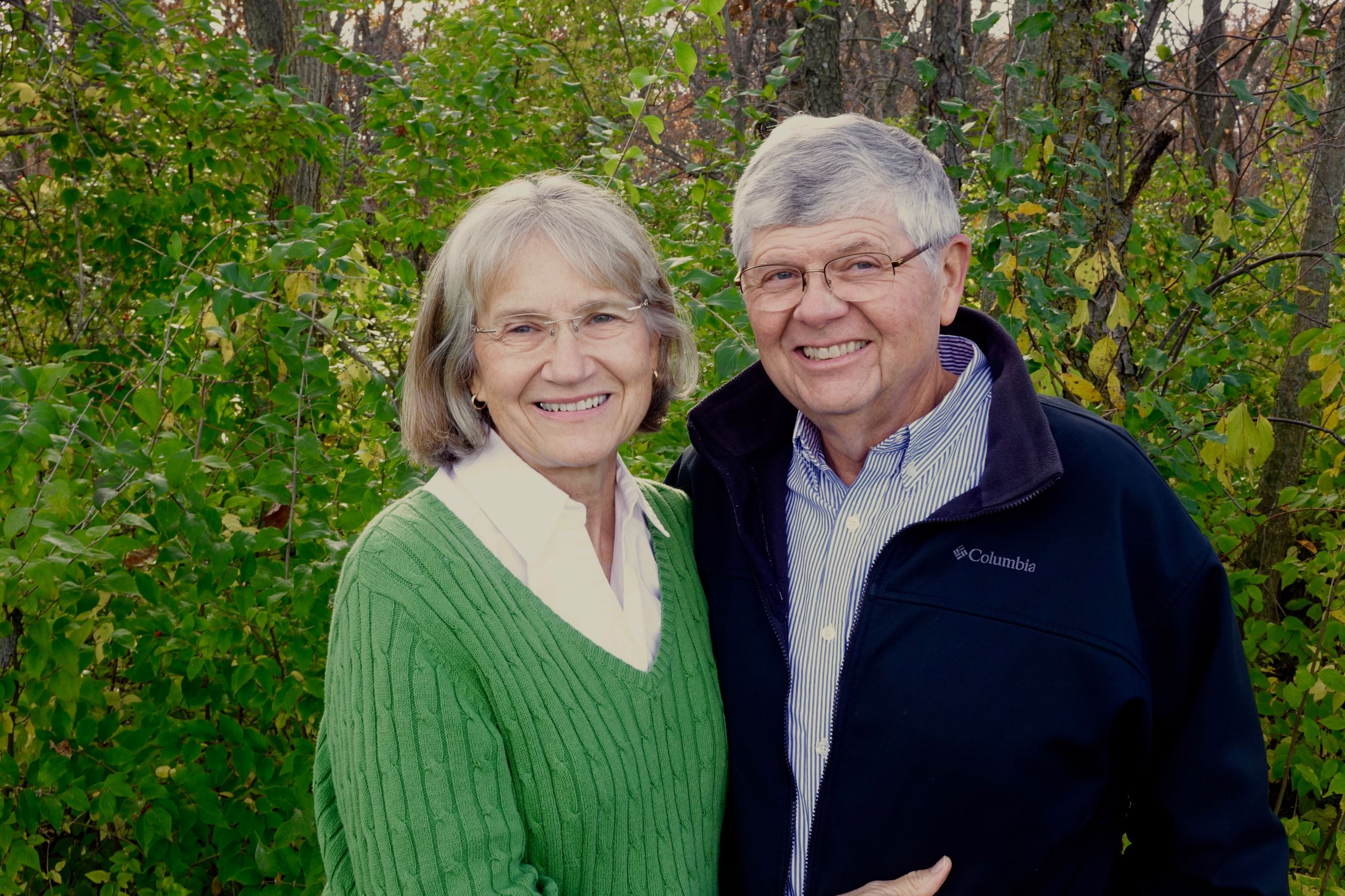 George and Trish Patrick of Ames win Hagie Heritage Award