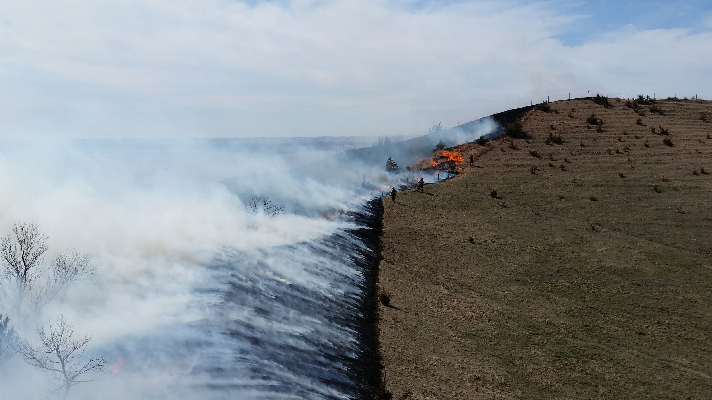 Earth, Wind and Fire: INHF's spring burn season