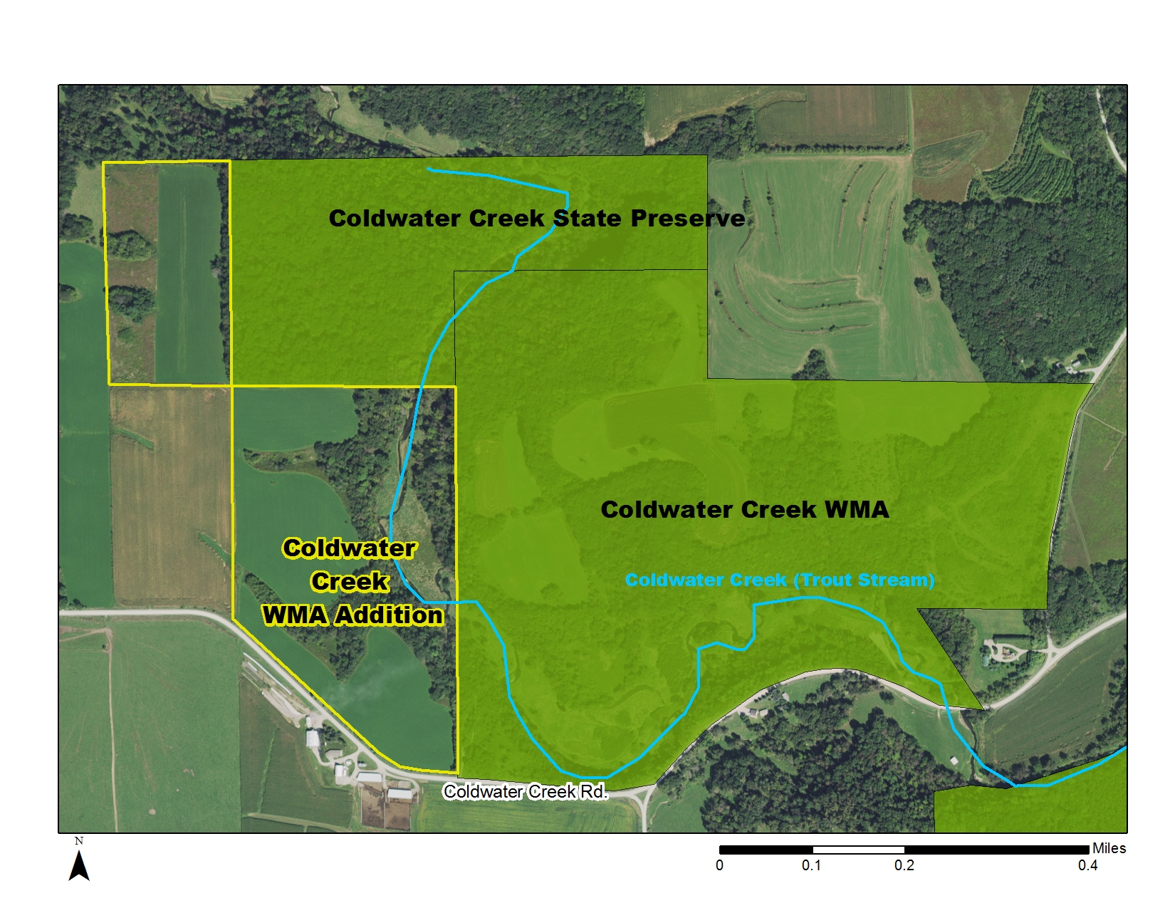 Coldwater Creek WMA Addition