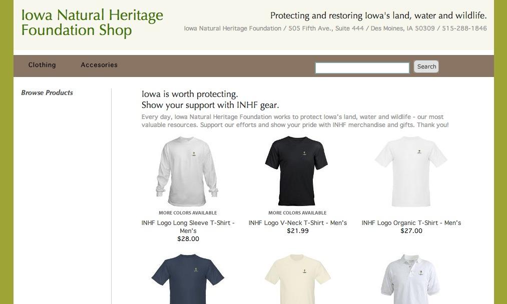 9bb49c0e94 Shop INHF for Black Friday - Iowa Natural Heritage Foundation