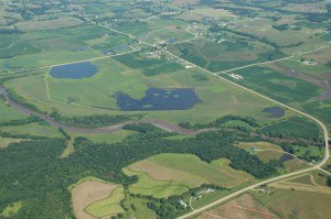 Three miles east of Indianola, Bank Swallow Bend is part of the Federal Wetlands Reserve Program.