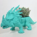 Betty the Styracosaurus - Dinosaur Planter