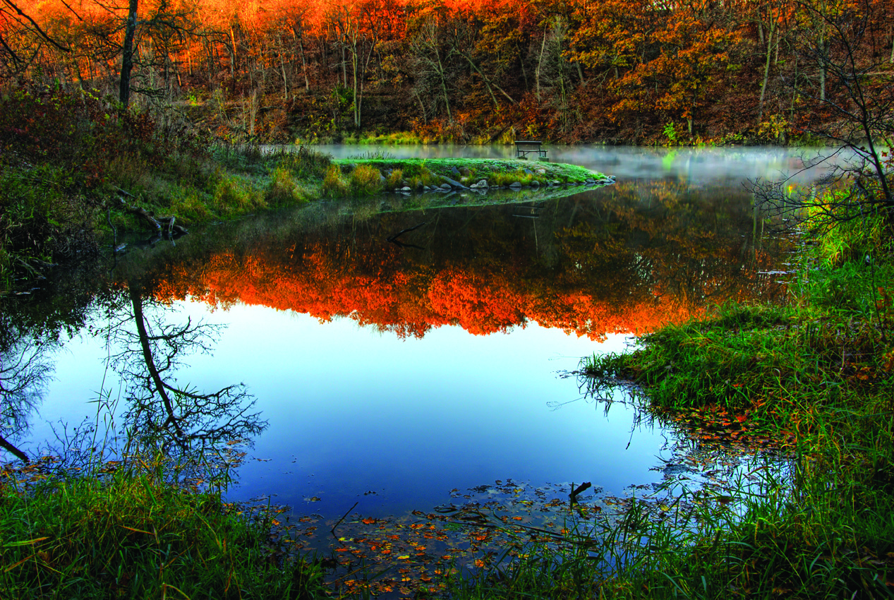 Spring Brook Lake ... Fall foliage