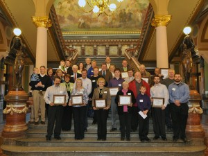 Over 20 landowners, families and organizations were honored for their gifts to conservation in 2012.