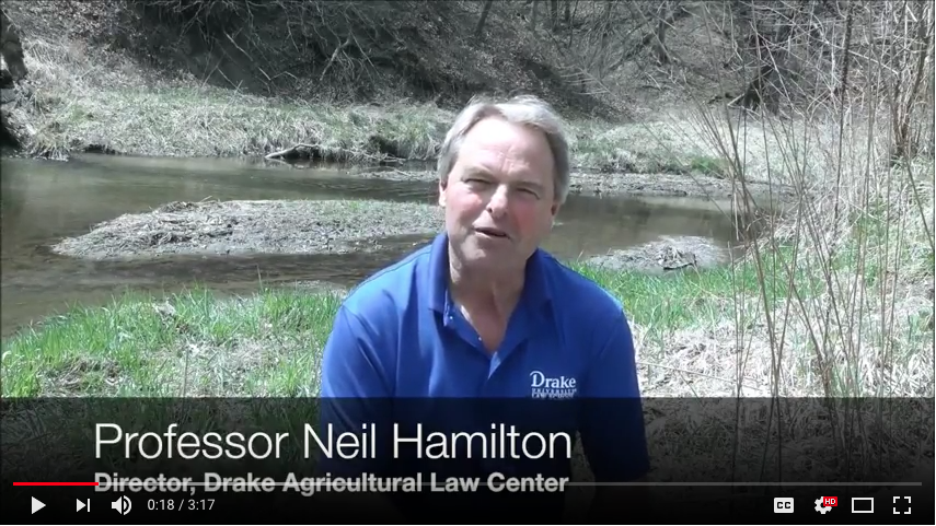Weekly video series discusses land and water issues in Iowa