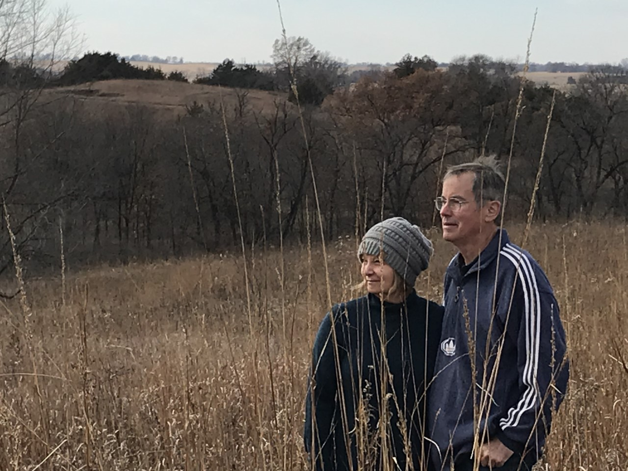 Patti and Ray Hamilton have spent the last 35 years restoring native prairie at Codfish Hollow Hill.