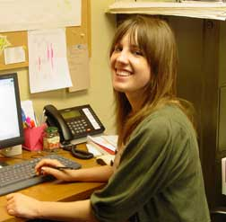 Program Support interns help write grants and assist with INHF events.
